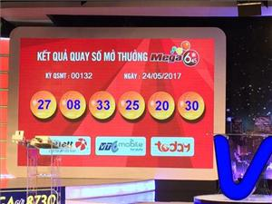 Vé may mắn trúng Jackpot hơn 112 tỷ đồng đến từ Hà Nội