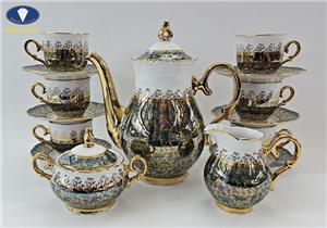 Đặc điểm nổi bật của bộ trà sứ cao cấp Tiệp Khắc