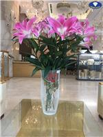 Bộ sưu tập lọ hoa pha lê cắm hoa ly SIÊU SANG
