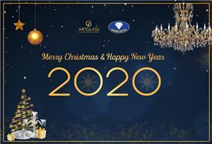Quà Tặng Pha Lê Chúc mừng Giáng Sinh và Tết Canh Tý 2020