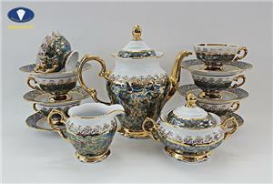 Bật mí cách chọn bộ tách trà sứ cao cấp ưng ý