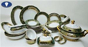 Tổng hợp các mẫu bát đĩa sứ cao cấp cho Tết Nguyên Đán 2020