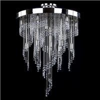 Chọn đèn pha lê trang trí chung cư thế nào cho hợp phong thủy?