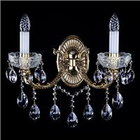 4 mẫu đèn pha lê trang trí chung cư treo tường vừa đẹp vừa sang