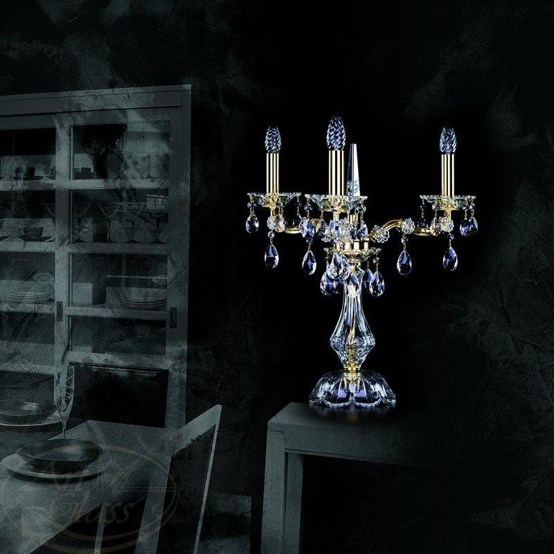 Đèn bàn pha lê từ Tiệp
