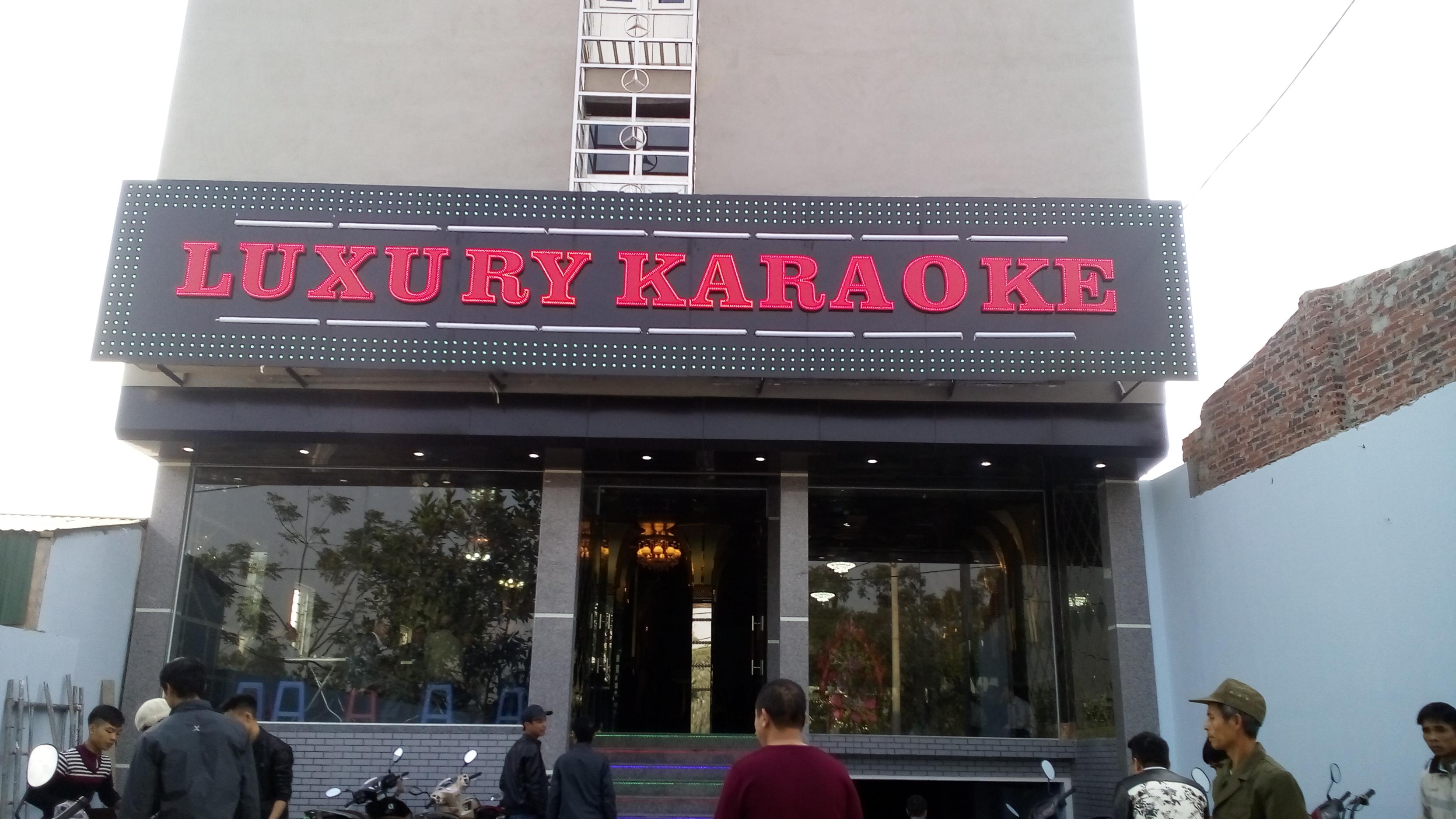 Công trình tư nhân Karaoke Luxury (Quế Võ - Bắc Ninh)