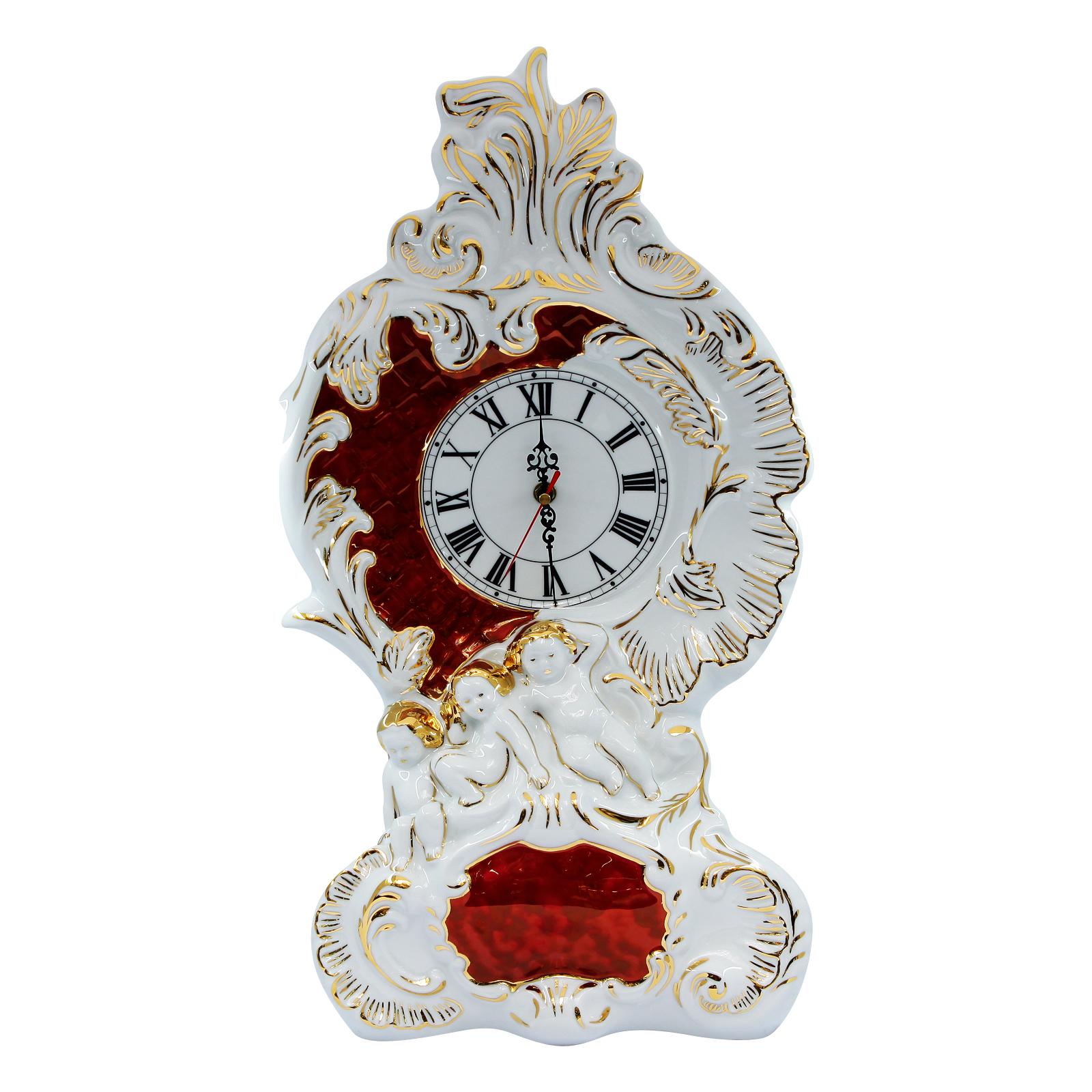 Đồng hồ sứ đỏ to