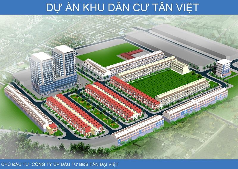 dự án đất nền Tân Việt Thái Nguyên