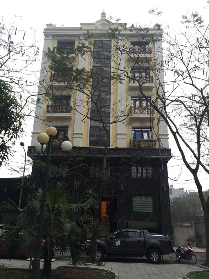 Công trình Biệt thự tư nhân 23 Lê Văn Lương - Hà Nội