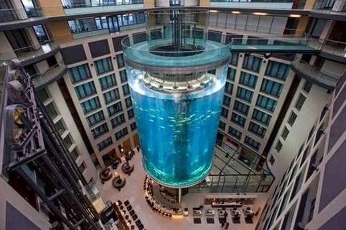10 thang máy độc đáo nhất thế giới