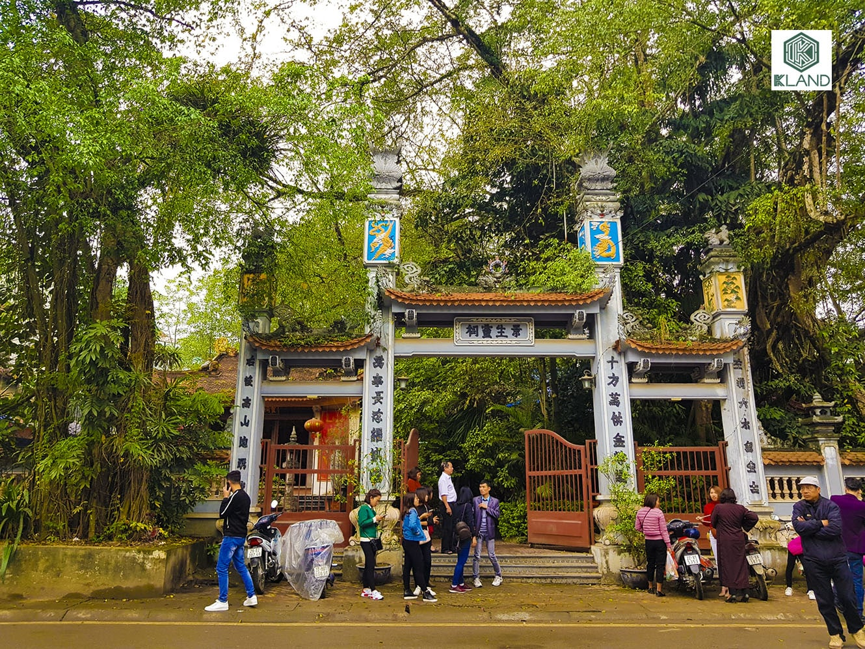 Đền Cảnh Sanh - Tuyên Quang