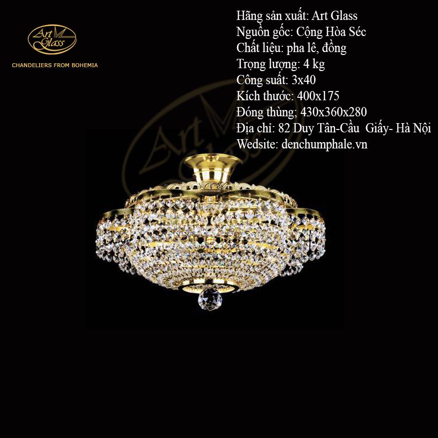 Đèn trần MARIKA I thiết kế độc đáo, sang trọng   Công ty TNHH Quà tặng pha lê