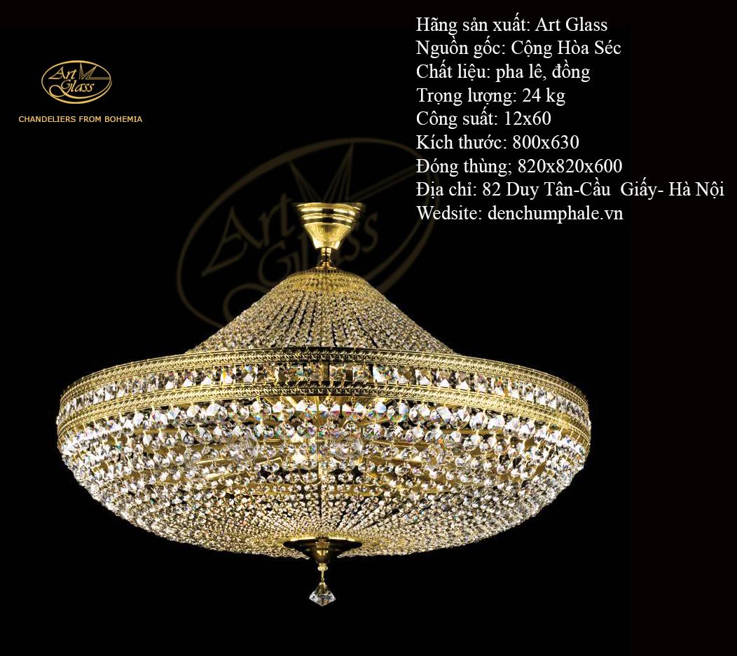 Đèn trần VALERIE DIA 800 sang trọng bậc nhất | Công ty TNHH Quà tặng pha lê