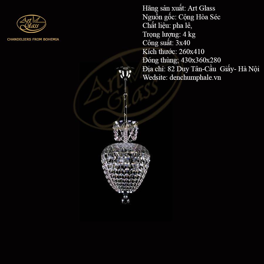 Đèn trần VIVIEN II CHAIN NICKEL tinh tế   Công ty TNHH Quà tặng pha lê