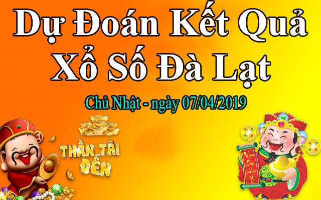 Dự Đoán XSDL 07/04 – Dự Đoán Xổ Số Đà Lạt Chủ Nhật Ngày 07/04/2019