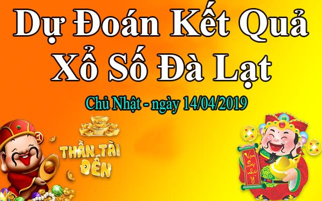 Dự Đoán XSDL 14/04 – Dự Đoán Xổ Số Đà Lạt Chủ Nhật Ngày 14/04/2019