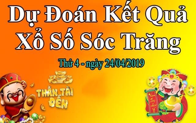 Dự Đoán XSST 24/04 – Dự Đoán Xổ Số Sóc Trăng Thứ 4 Ngày 24/04/2019