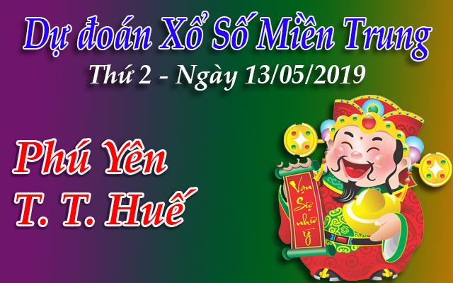 Dự Đoán XSMT 13/05 - Dự đoán xổ số Miền Trung Thứ 2 ngày 13/05/2019