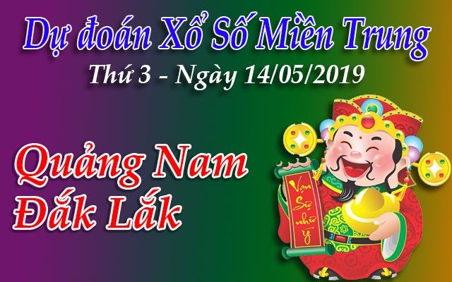 Dự Đoán XSMT 14/05 - Dự đoán xổ số Miền Trung Thứ 3 ngày 14/05/2019
