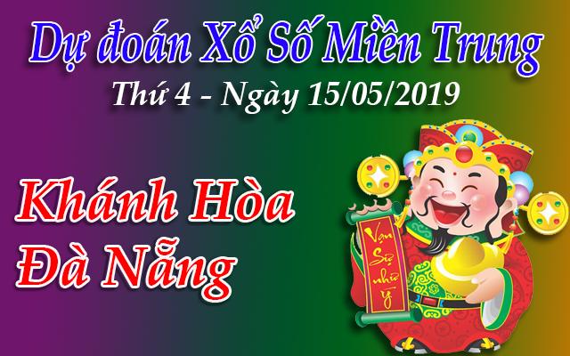 Dự Đoán XSMT 15/05 - Dự đoán xổ số Miền Trung Thứ 4 ngày 15/05/2019
