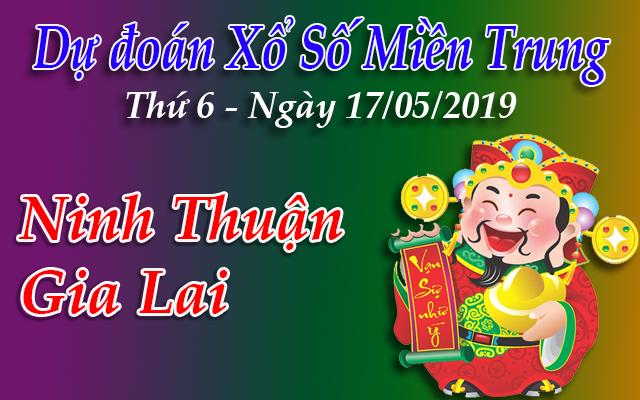 Dự Đoán XSMT 17/05 - Dự đoán xổ số Miền Trung Thứ 6 ngày 17/05/2019