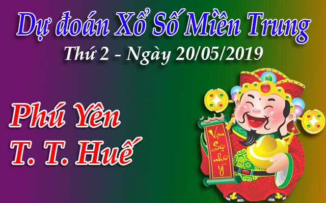Dự Đoán XSMT 20/05 - Dự đoán xổ số Miền Trung Thứ 2 ngày 20/05/2019