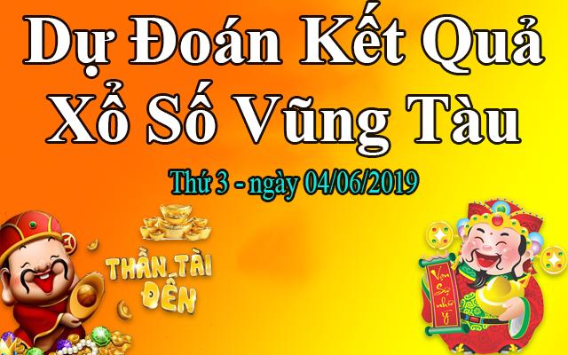 Dự Đoán XSVT 04/06 – Dự Đoán Xổ Số Vũng Tàu Thứ 3 Ngày 04/06/2019