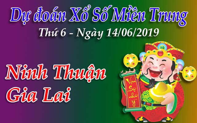 Dự Đoán XSMT 14/06 - Dự đoán xổ số Miền Trung Thứ 6 ngày 14/06/2019