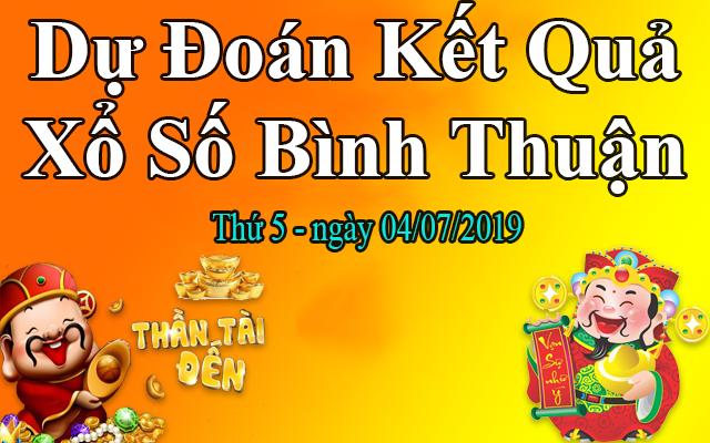 Dự Đoán XSBTH 04/07 – Dự Đoán Xổ Số Bình Thuận thứ 5 Ngày 04/07/2019
