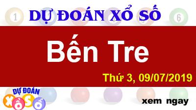Dự Đoán XSBTR 09/07/2019 – Dự Đoán Xổ Số Bến Tre Thứ 3 ngày 09/07/2019