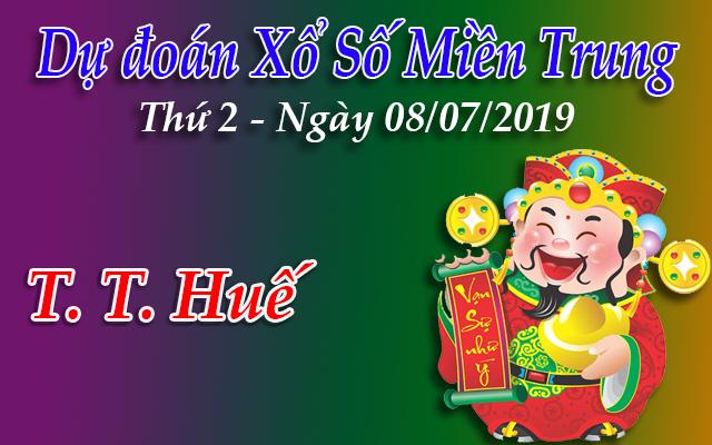 Dự Đoán XSTTH 08/07/2019 – Dự Đoán Xổ Số Huế Thứ 2 ngày 08/07/2019