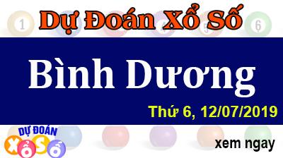 Dự Đoán XSBD 12/07/2019 – Dự Đoán Xổ Số Bình Dương Thứ 6 ngày 12/07/2019