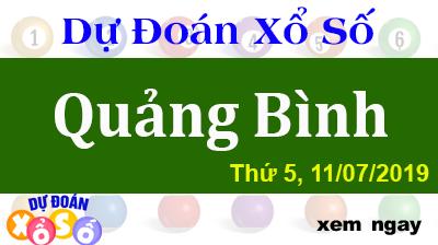 Dự Đoán XSQB 11/07/2019 – Dự Đoán Xổ Số Quảng Bình Thứ 5 ngày 11/07/2019