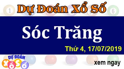 Dự Đoán XSST 17/07/2019 – Dự Đoán Xổ Số Sóc Trăng Thứ 4 ngày 17/07/2019