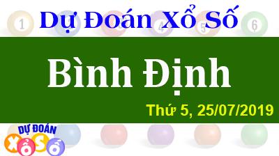 Dự Đoán XSBDI 25/07/2019 – Dự Đoán Xổ Số Bình Định Thứ 5 ngày 25/07/2019