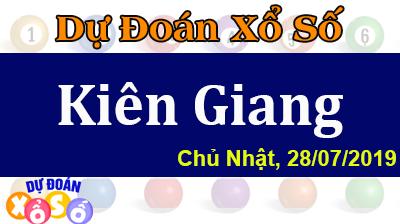 Dự Đoán XSKG 28/07/2019 – Dự Đoán Xổ Số Kiên Giang Chủ Nhật ngày 28/07/2019