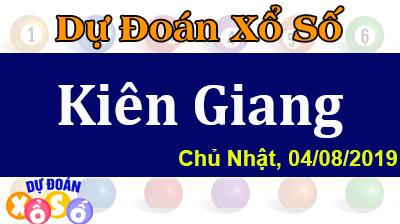 Dự Đoán XSKG 04/08/2019 – Dự Đoán Xổ Số Kiên Giang Chủ Nhật ngày 04/08/2019