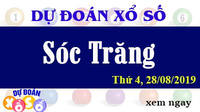 Dự Đoán XSST 28/08/2019 – Dự Đoán Xổ Số Sóc Trăng Thứ 4 ngày 28/08/2019