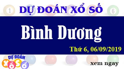 Dự Đoán XSBD 06/09/2019 – Dự Đoán Xổ Số Bình Dương Thứ 6 ngày 06/09/2019