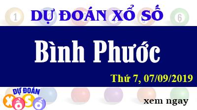 Dự Đoán XSBP 07/09/2019 – Dự Đoán Xổ Số Bình Phước Thứ 7 ngày 07/09/2019