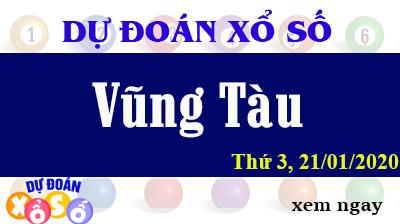 Dự Đoán XSVT – Dự Đoán Xổ Số Vũng Tàu Thứ 3 ngày 21/01/2020