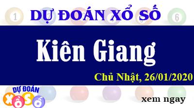 Dự Đoán XSKG – Dự Đoán Xổ Số Kiên Giang Chủ Nhật ngày 26/01/2020