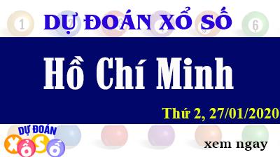 Dự Đoán XSHCM – Dự Đoán Xổ Số TPHCM Thứ 2 ngày 27/01/2020