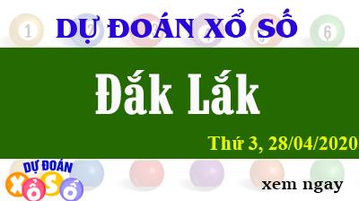 Dự Đoán XSDLK – Dự Đoán Xổ Số Đắk Lắk Thứ 3 ngày 28/04/2020