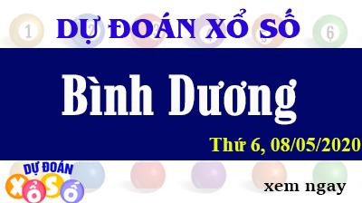 Dự Đoán XSBD – Dự Đoán Xổ Số Bình Dương Thứ 6 ngày 08/05/2020