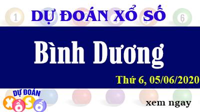 Dự Đoán XSBD – Dự Đoán Xổ Số Bình Dương Thứ 6 ngày 05/06/2020