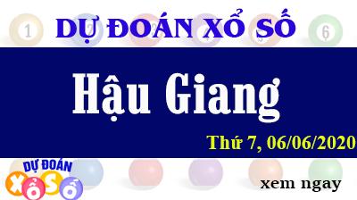 Dự Đoán XSHG – Dự Đoán Xổ Số Hậu Giang Thứ 7 ngày 06/06/2020