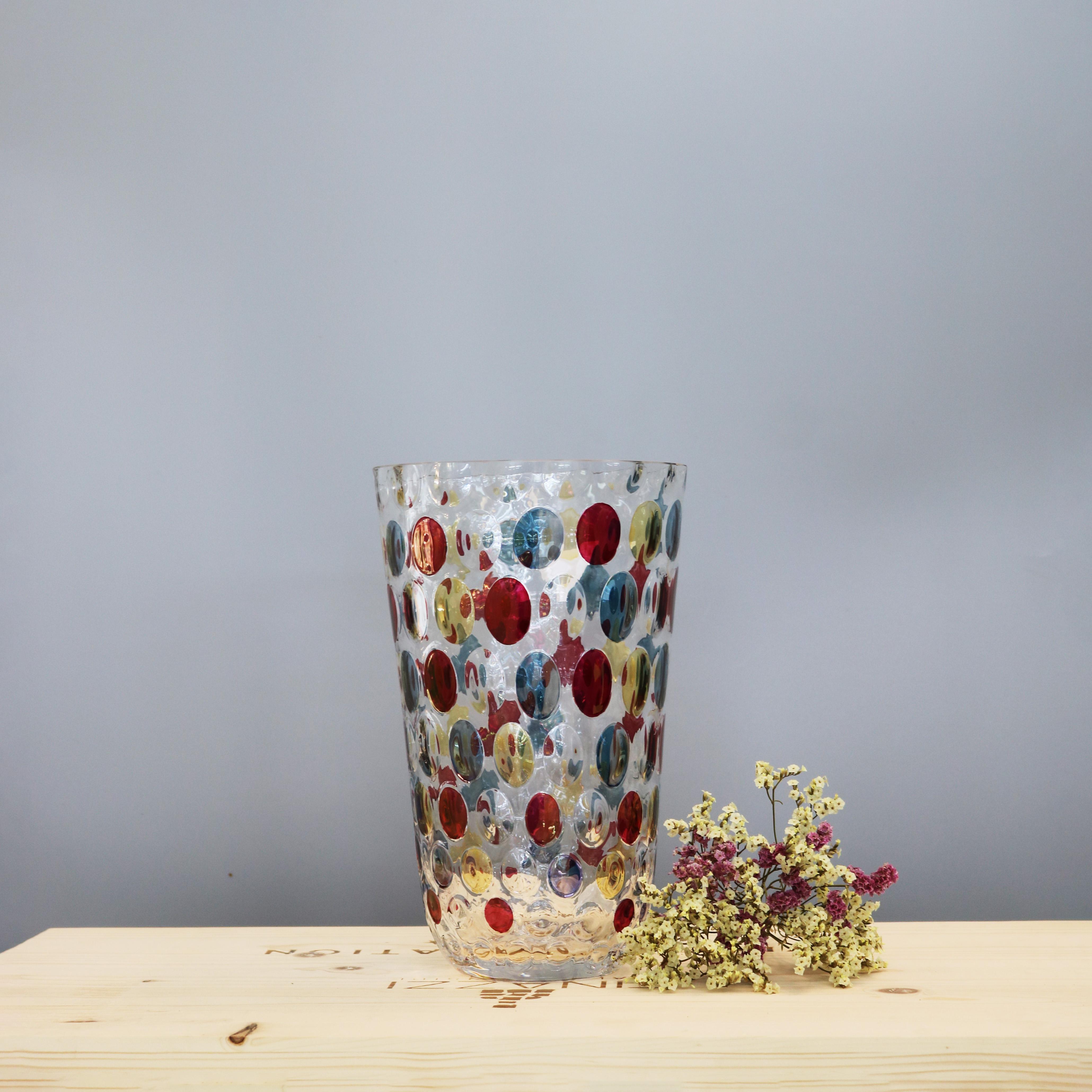 Chiêm ngưỡng những mẫu bình hoa pha lê màu Egermann Optika
