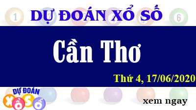 Dự Đoán XSCT – Dự Đoán Xổ Số Cần Thơ Thứ 4 ngày 17/06/2020