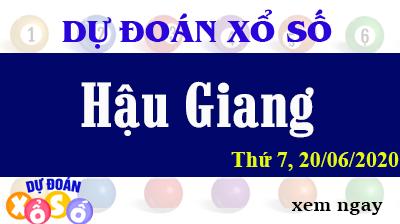 Dự Đoán XSHG – Dự Đoán Xổ Số Hậu Giang Thứ 7 ngày 20/06/2020